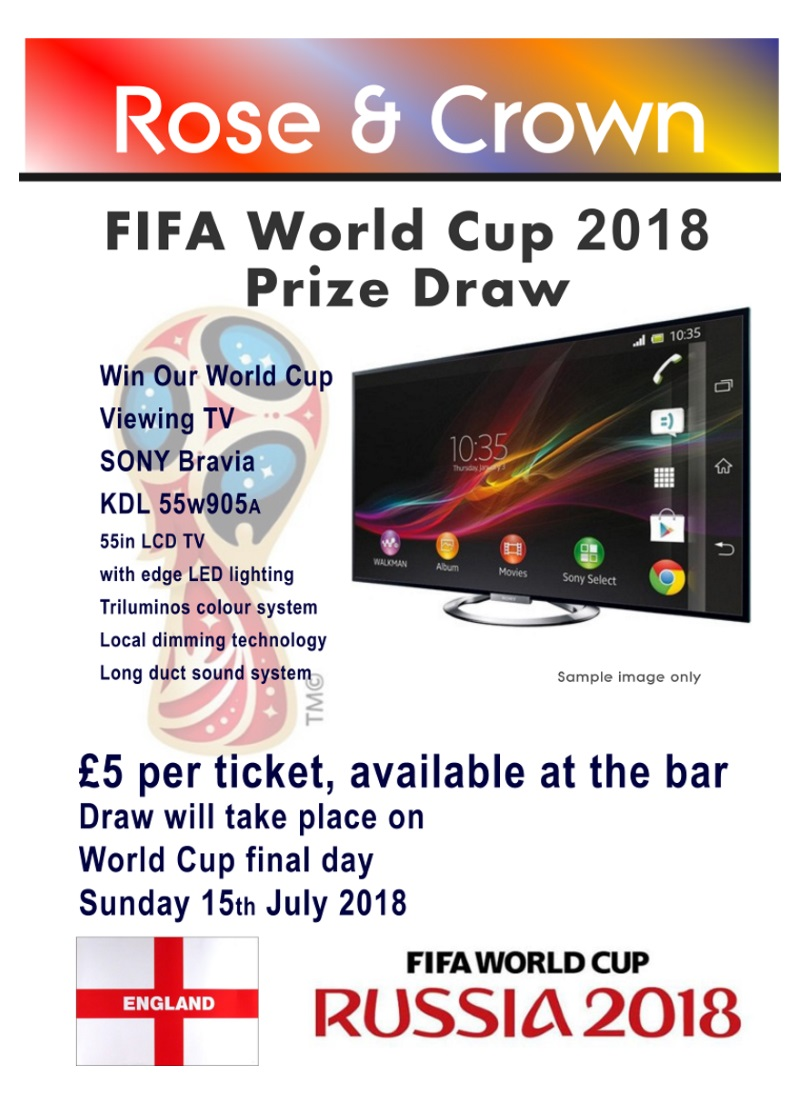 Football World Cup Draw - Rose & Crown, Lytchett